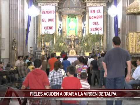 Culmina la ruta del peregrino para ver a la virgen de Talpa de Allende