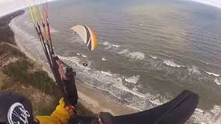 Lot Paralotnią – Trójmiasto video