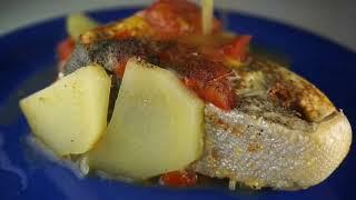 Обратное воспроизведение рецепта с рыбкой.
