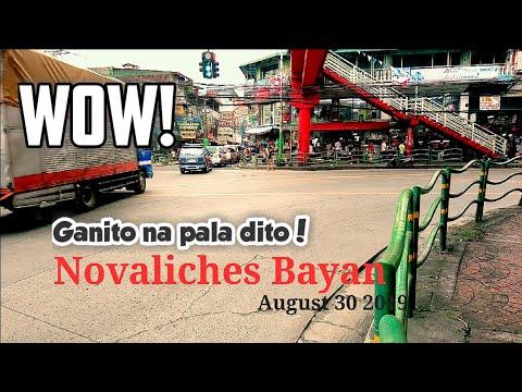 Novaliches Bayan ang ganda na pala! | Nova Proper Walking tour at Quezon City Philippines