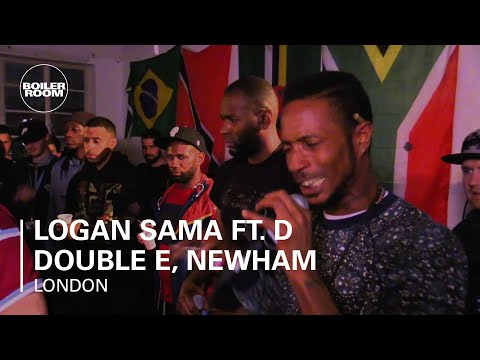 Logan Sama ft. D Double E, Newham Generals, Flowdan & Riko Dan Boiler Room London DJ Set