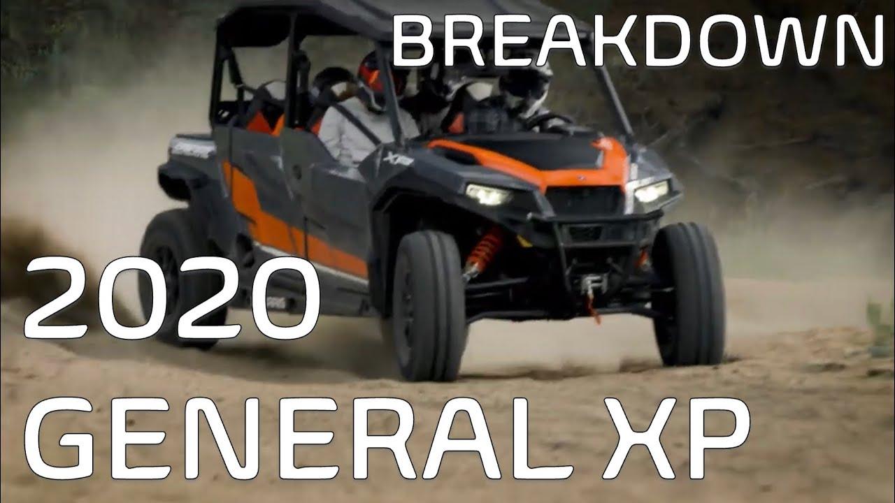 2020 Polaris General XP Breakdown