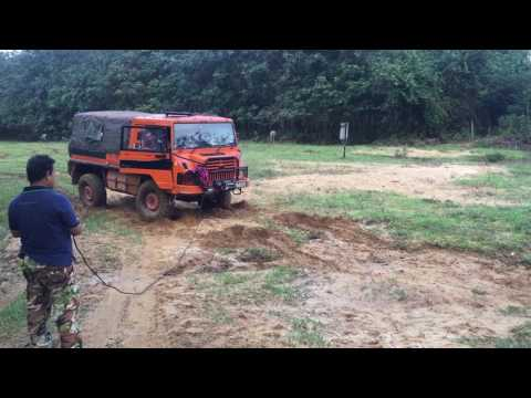 Pinzgauer 716 engine endurance test 10/1/2017