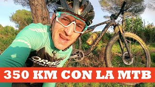 350 kilómetros de mountainbike | Ibon Zugasti