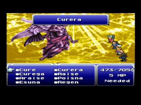 Final Fantasy 6 - Last Bosses and Ending