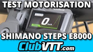Moteur vtt SHIMANO STEPS E8000 - Mode d'emploi et conseils - 526