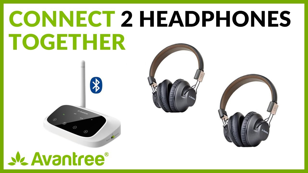 How To Connect Two Headphones Together Bluetooth Wireless Youtube
