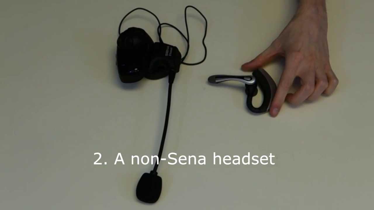Sena Bluetooth Universal Intercom Guide 2 Way One Wiring And Non Headset