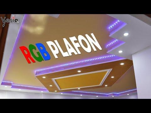 Ugradnja led panela i RGB trake na plafon VLOG
