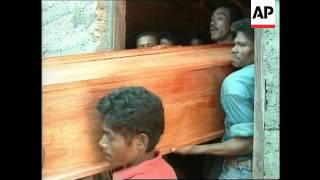 ETIMOR: FUNERAL OF INDEPENDENCE VOTE VICTIMS