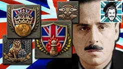FOUR Toughest HOI4 Achievements In ONE VIDEO - The Empire Strikes Back, The Puppetmaster, One Empire