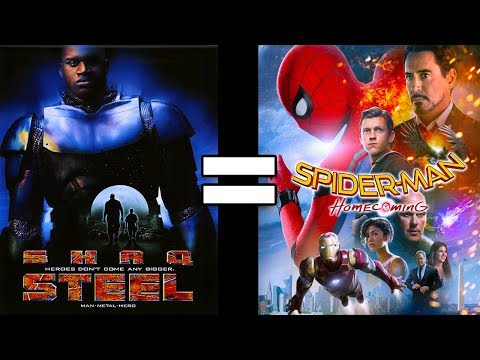 24 Reasons Steel & Spider-Man: Homecoming Are The Same Movie