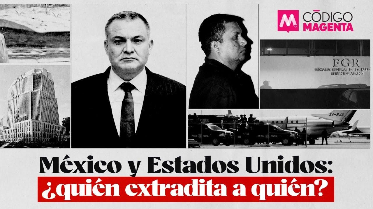México y Estados Unidos: ¿quién extradita a quién?