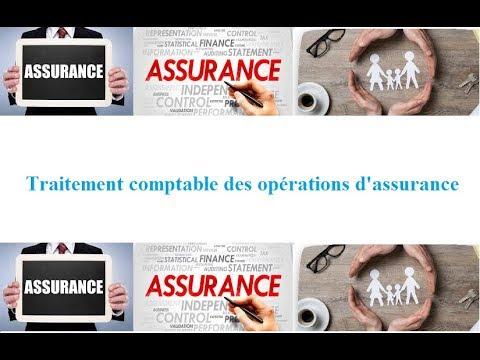 Assurance :Traitement comptable des opérations d'assurance