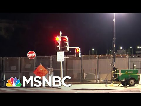 Razor Wire, 7 Foot Fence Surround Capitol As Security Concerns Soar Ahead Of Biden Inauguration