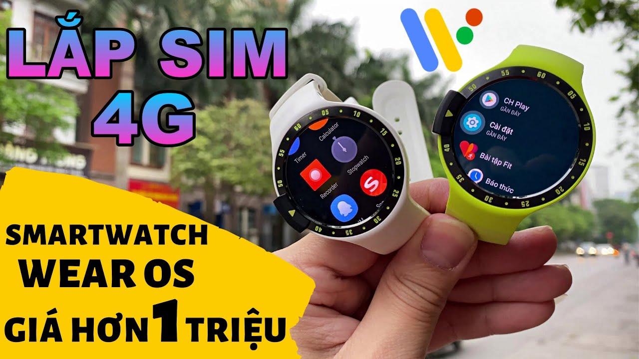 SmartWatch Wear Os hơn 1 triệu : Ticwatch Sport | Lắp Sim 4G - Siêu Rẻ Mà Ngon