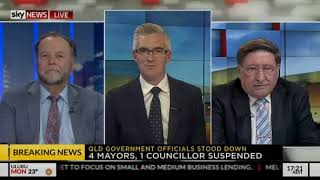 Bruce Hawker and Grahame Morris on SKY NEWS SPEERS 21.5.18