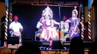 Yakshagana - Gopal achar entry with Umesh shankar narayana in Gagana thare..