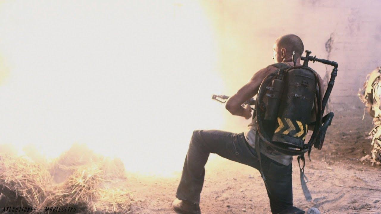 Death Race 2 | Flamethrower Scene [2010]