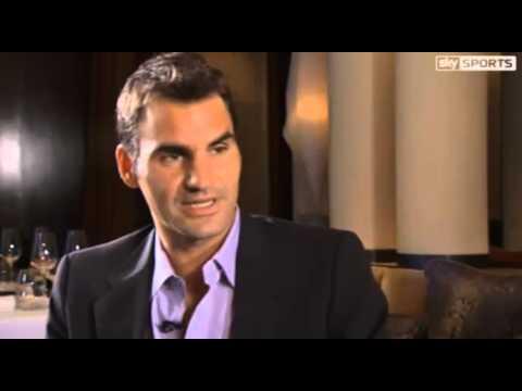 Roger Federer in Paris Exclusive Interview Part 1