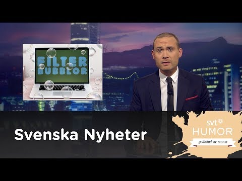 Filterbubblor - Svenska nyheter