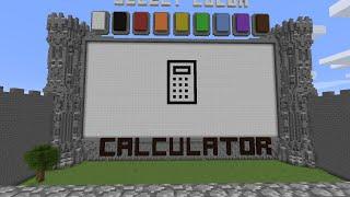 Minecraft : Draw my Thing - #20 : TASCHENRECHNER in Minecraft!