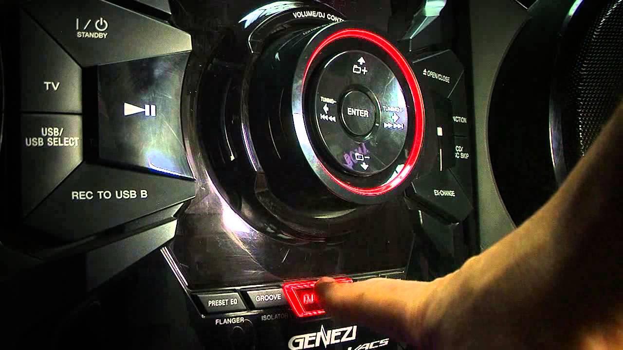 Sony equipo de sonido newtech youtube - Muebles para equipo de sonido ...