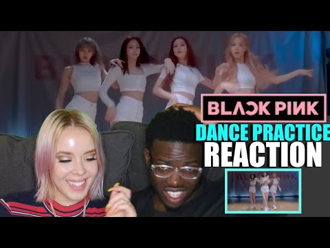 BLACKPINK - 'Don't Know What To Do' DANCE PRACTICE VIDEO (MOVING VER.) REACTION