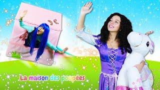 La princesse dans la maison qui vole! Vidéo drôle sur la vie des princesses.