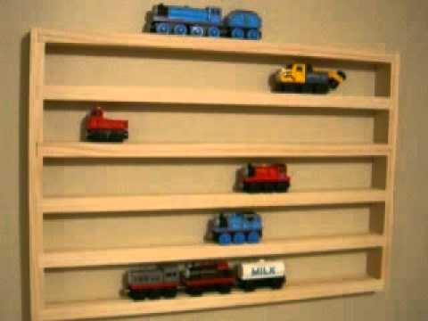 Thomas Tank Storage Display Rack Wooden Train Holder Accessory Play table wall & Thomas Tank Storage Display Rack Wooden Train Holder Accessory Play ...