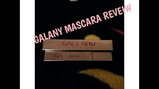 GALANY: FIRST CLASS LASH MASCARA REVIEW | VLOGMAS DAY 9