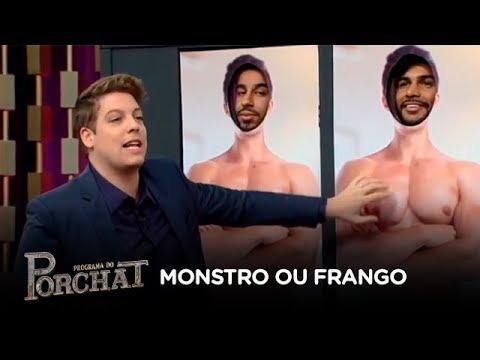 Oliver, Leo Stronda, Rafa Brandão e Marcello jogam Monstro ou Frango