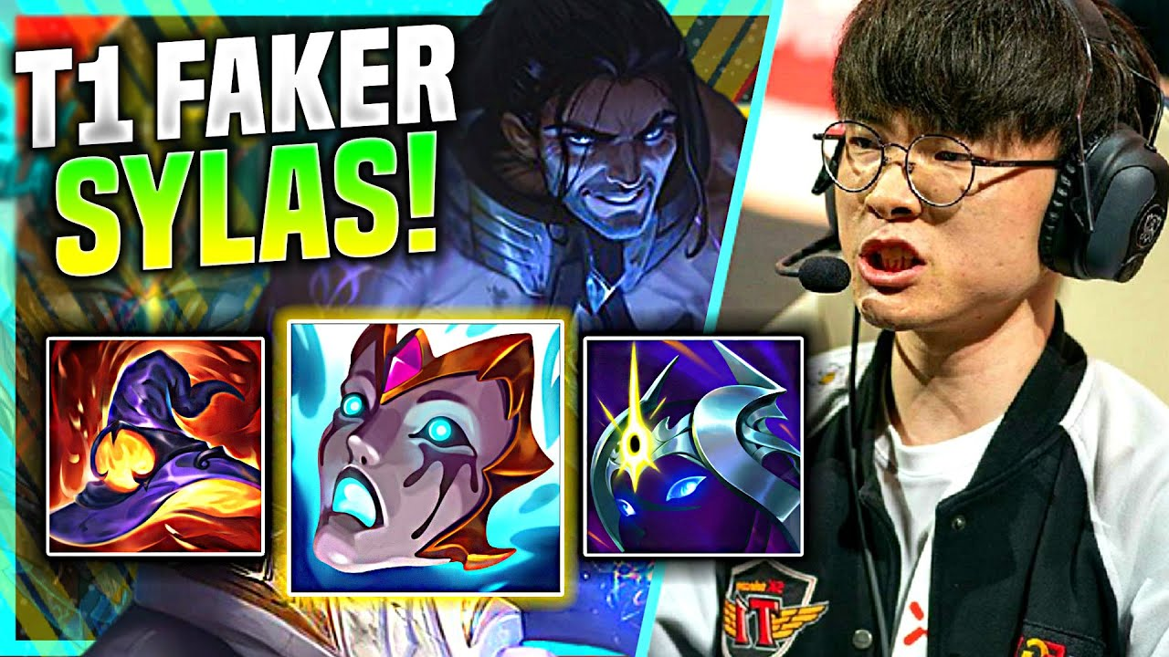FAKER IS LITERALLY SMURFING WITH SYLAS! - T1 Faker Plays Sylas Mid vs Yone! | Preseason 11