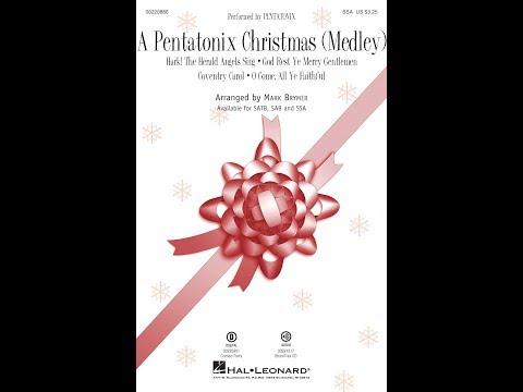 A Pentatonix Christmas (Medley) (SSA) - Arranged by Mark Brymer