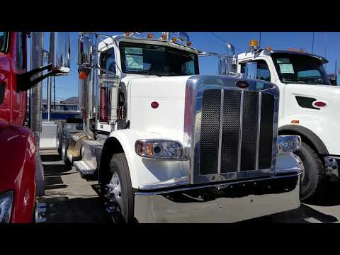 Tour Of The Trucks At Rush Peterbilt In Sylmar Ca.
