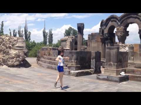 2016. Армения - Грузия. 06. Звартноц