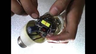 cara menyambung Kaca lampu yang sudah putus