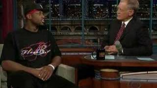 Dwayne Wade on the Late Show