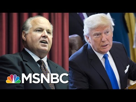 Rush Limbaugh Slams Donald Trump For 'Caving' On Border Wall | The Last Word | MSNBC