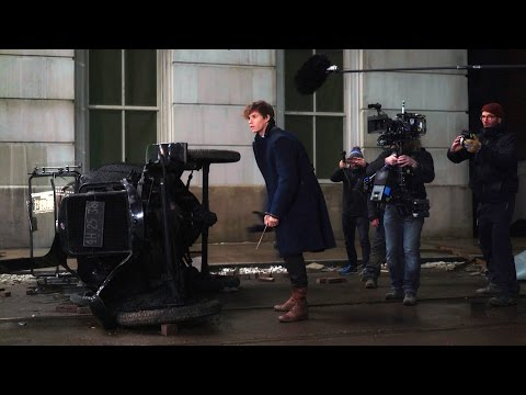 'Fantastic Beasts and Where to Find Them' Behind the Scenes