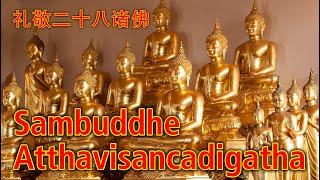 Paritta Chanting - Sambuddhe Atthavisancadigatha