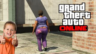 GTA V Online / 12 year old try's online dating on gta