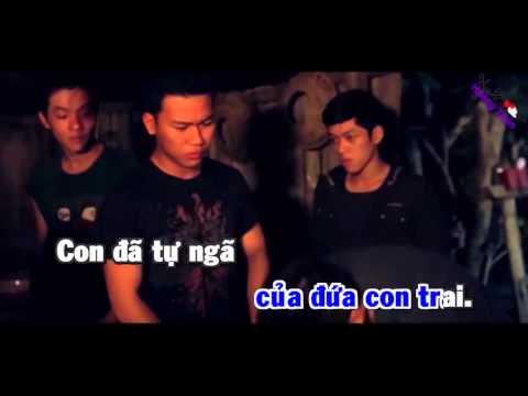 Karaoke HD - Con Nợ Mẹ - Trịnh Đình Quang beat Gốc