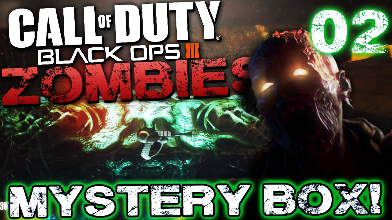 Black ops zombies mystery box finding it cod