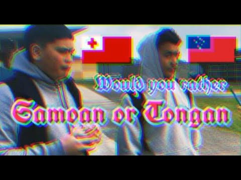Would You Rather Date A Samoan Or Tongan ( High School Edition ) 🇹🇴🇼🇸