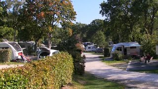 Corfe Castle Camping and Caravanning Club Site Dorset.
