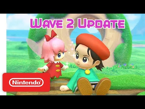 Kirby Star Allies: Wave 2 Update - Adeleine & Ribbon - Nintendo Switch