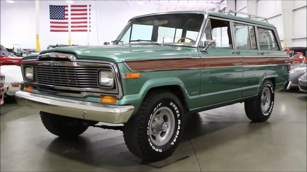 1979 Jeep Wagoneer - YouTube