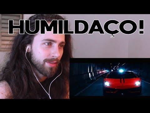 REAGINDO A Hungria Hip Hop - Beijo Com Trap (Official Vídeo)