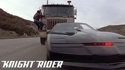 Michael und K.I.T.T vereiteln einen Überfall |Knight Rider Deutschland